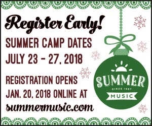 Summer Music Early Registration