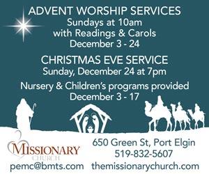 Port Elgin Missionary Church Christmas
