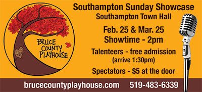 Bruce County Playhouse Sunday Showcase
