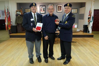 Mayor Mike Smith Poppy Campaign feature