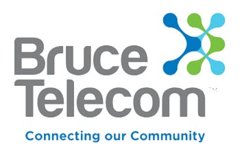 bruce telecom logo feature