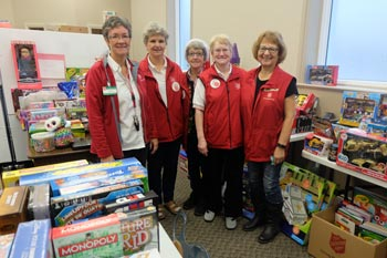 salvation army toy drive feature