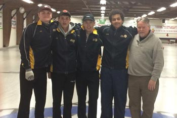 SDSS Boys Curling feature