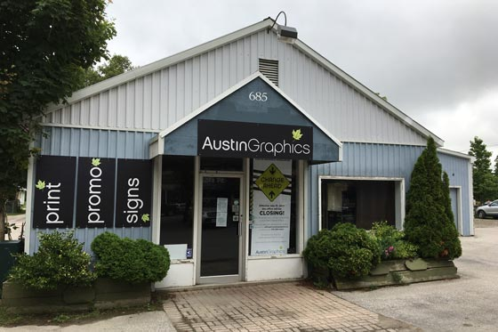 austin graphics port elgin 560