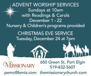 Port Elgin Missionary Church Christmas