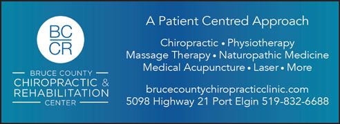 Bruce County Chiro Events