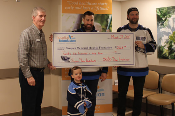 winterhawks cheque
