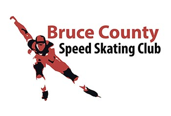 Bruce County Speed Skating Club Logo feature