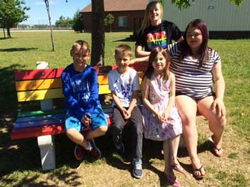 buddy bench northport feature