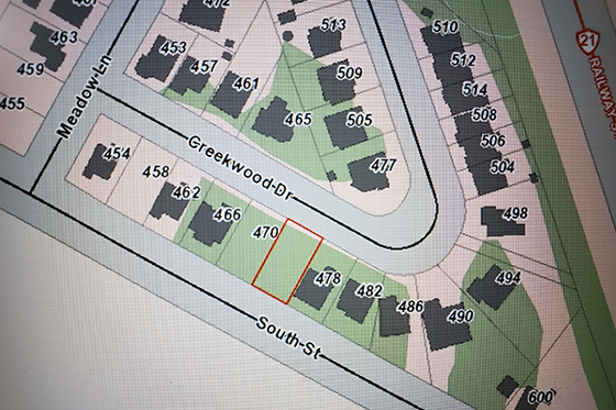 474 Creekwood Dr mapping